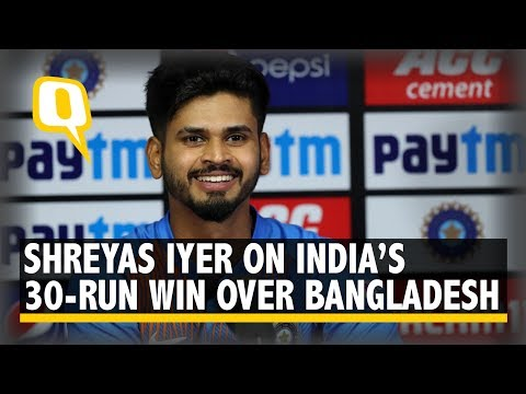 Rohit Sharma's Pep Talk Motivated Us to Win the Game: Shreyas Iyer | The Quint
