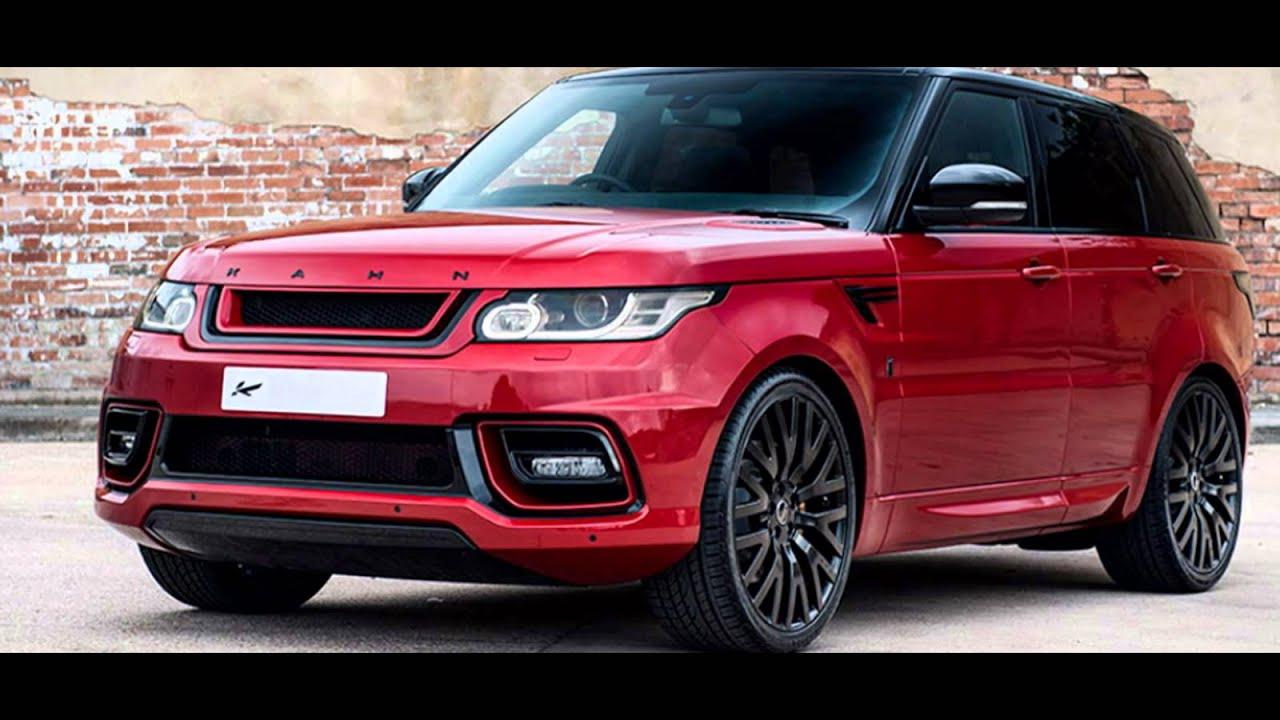 2016 Range Rover Sport Firenze Red  YouTube