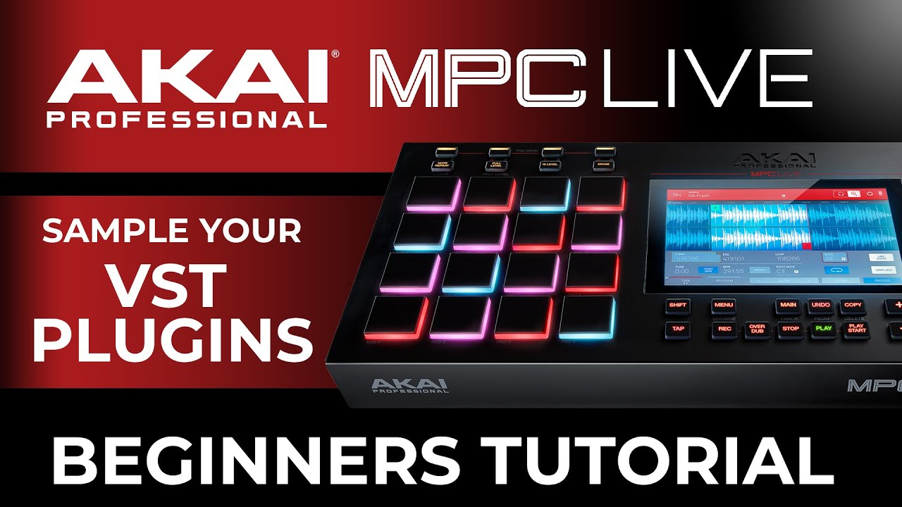 SFTraxx com - How to: Sample Your VST plugins in the MPC Live