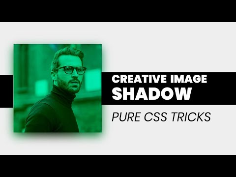 Creative Image Effect using CSS | Image Shadow CSS