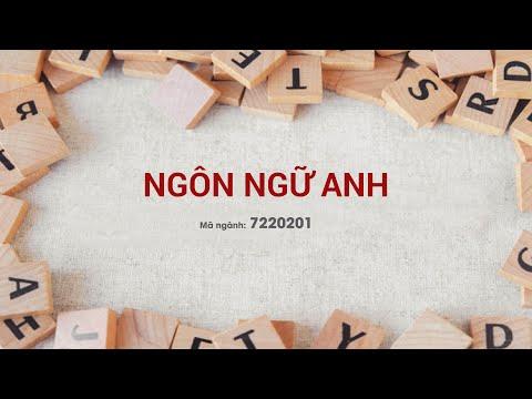 Ngành NGÔN NGỮ ANH - Trường Đại Học Văn Lang