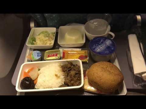 Singapore Airlines SQ261 Singapore to Sydney Economy Class