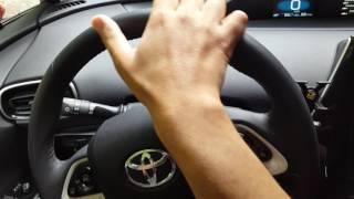 Prius 4 : bruits dans la direction / Steering wheel noises (vidéo 4)