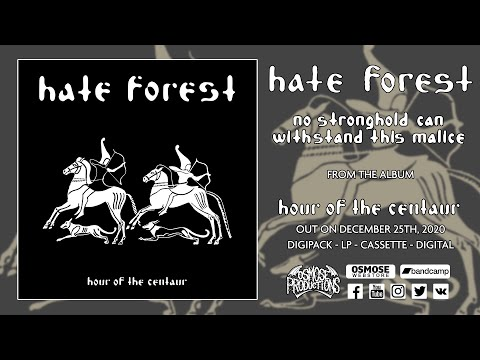 HATE FOREST No Stronghold Can Withstand this Malice (premiere track)