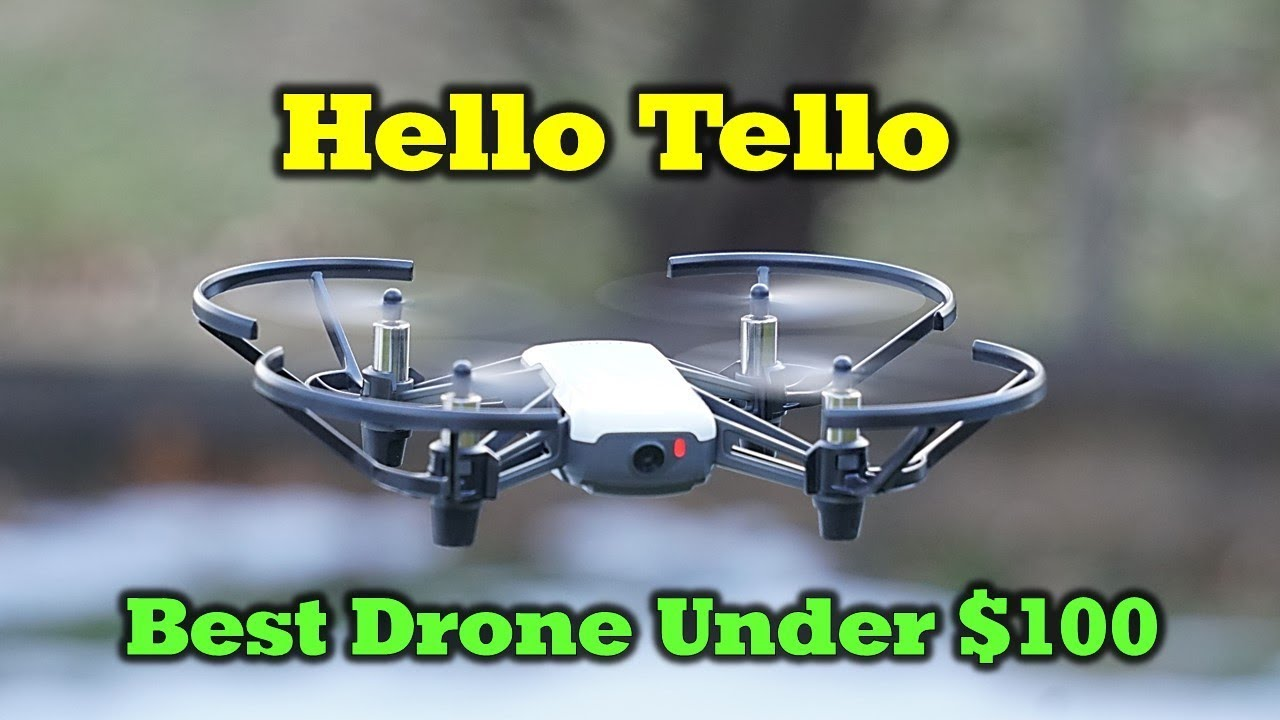 The New Tello Drone By Ryze - The Most Fun Flying You Can
