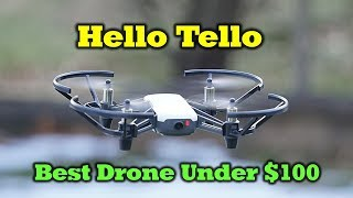 The New Tello Drone By Ryze - The Most Fun Flying You Can have For Under $100