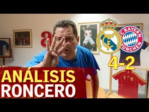 "Real Madrid 4-2 Bayern | Roncero:""Cristiano 100 goles en Champions"" | Diario AS"