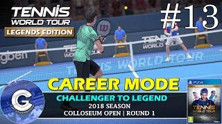 Let's Play Tennis World Tour | Career Mode #13 | NEW PATCH + 5 SETS! | Tennis World Tour Career Mode