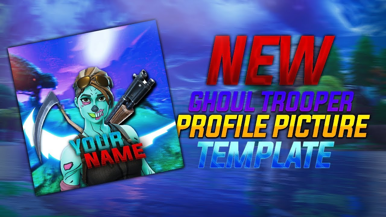 *NEW* GHOUL TROOPER PROFILE PICTURE TEMPLATE!!! - FORTNITE ...