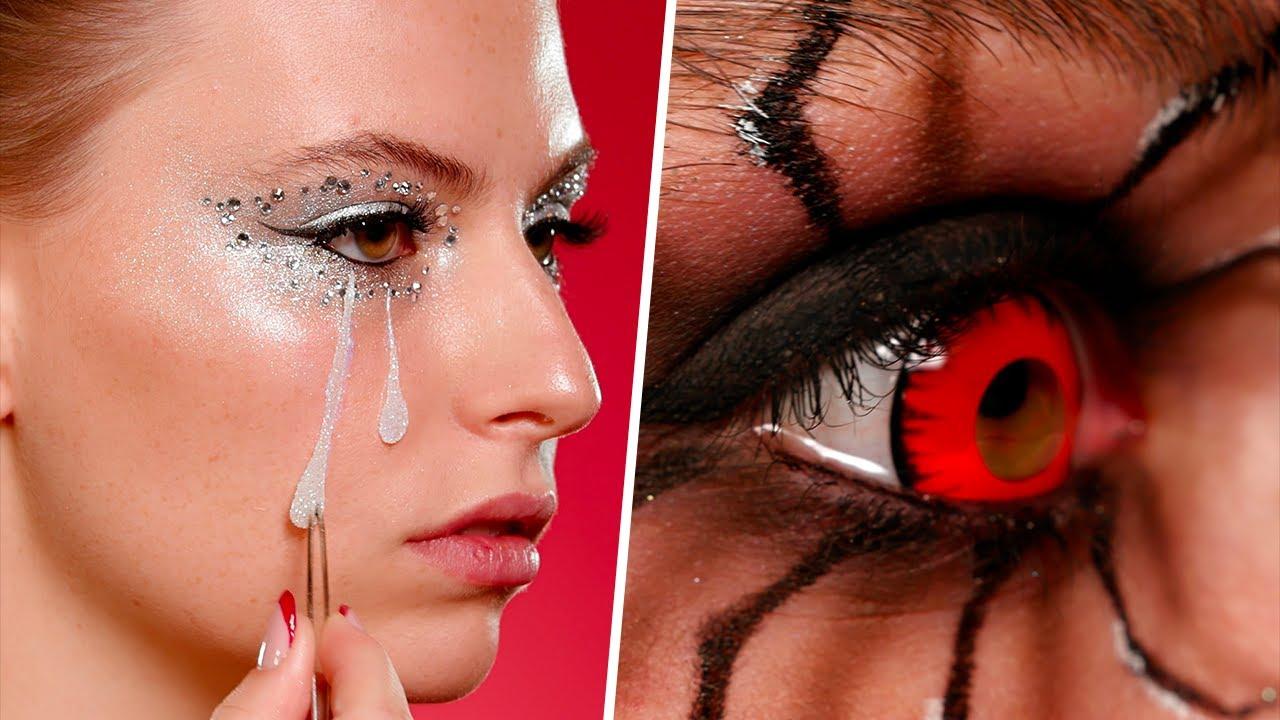 3 Scary Halloween Makeup Ideas
