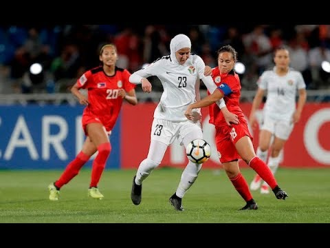 HIGHLIGHTS: Philippine Malditas def. Jordan, 2-1 (VIDEO) AFC Women's Asian Cup 2018 | April 6