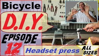 Headset press - easy to make DIY