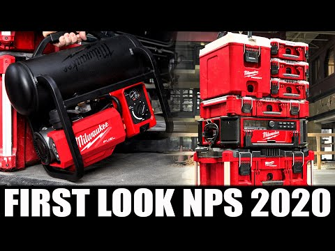 MILWAUKEE TOOLS NPS 2020 IS HAPPENING RIGHT NOW! (FIRST LOOK NEW RELEASES)