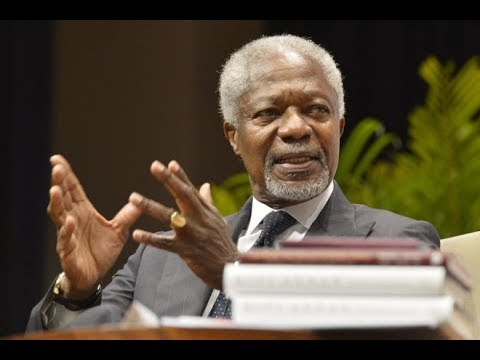 Former UN leader Kofi Annan has died