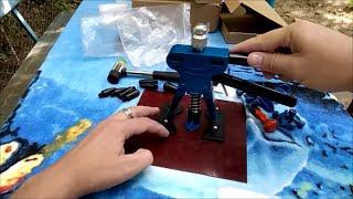 видео Оборудование для беспокрасочного удаления вмятин на автомобиле