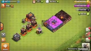 Clash Of Clans 5000 Pekka ve 5000 Domuz Binicisi Saldırısı