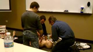 megacode simulator good samaritan hospital paramedic class 2012