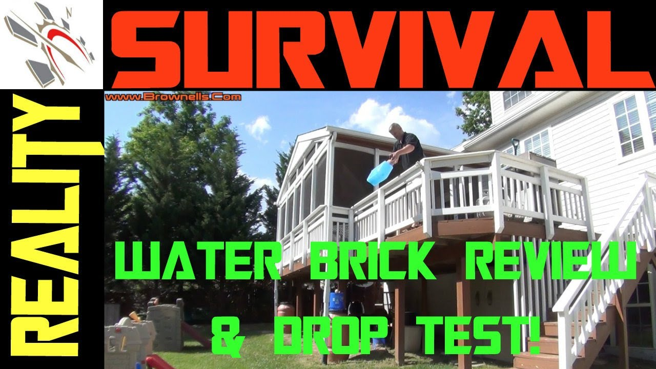 Urban Survival Gear Water Brick Review Youtube