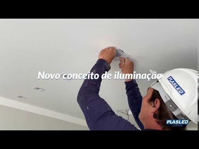 Novo conceito em iluminação - PLASLED