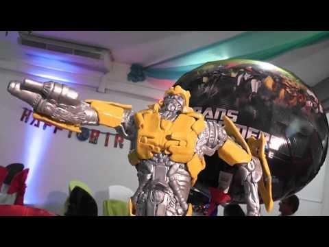 Decoracion fiesta Transformers