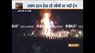 Amritsar train accident: Over 60 dead as train mows down Dussehra revellers in Choura Bazar