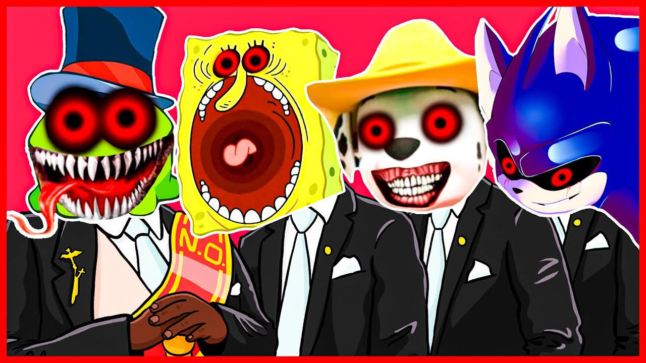 Om Nom.EXE & SpongeBob.EXE & Paw Patrol.EXE & Sonic.EXE - Meme Coffin Dance COVER