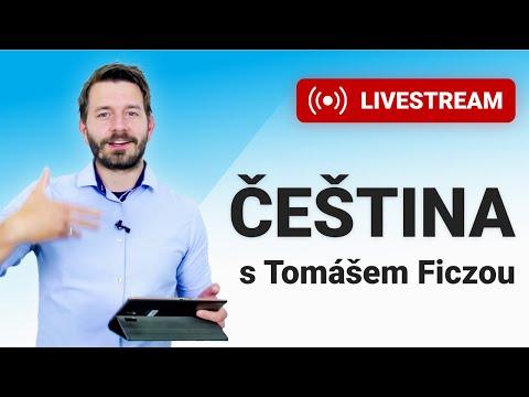 LIVESTREAM - Čeština s Tomášem Ficzou ― 11. díl (čtvrtek 14. 1. - 18:05)