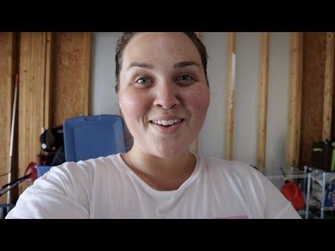 A Little Garage Makeover - SRV #300 |Sarah Rae Vlogas|