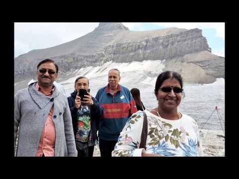Glacier 3000,Peak Walk, les Diablerets, Suisse,3 août 2015