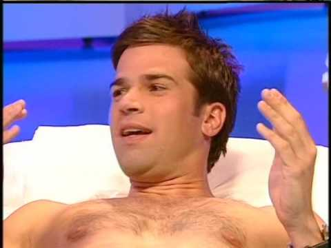 Blue Peter Gethin Jones waxed