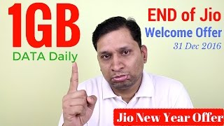 Jio New Year Offer | Happy New Year 2017