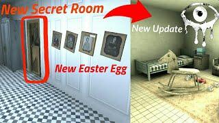 New Secret Room in Eyes The Horror Game(New Easter Egg)