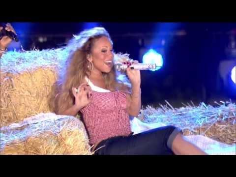 Mariah Carey Beautiful Macy's 4th Of July HD Miguel