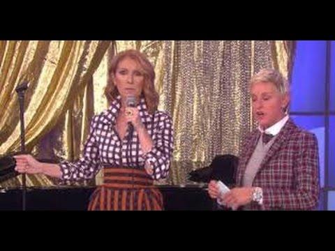 ELLEN DeGeneres SHOW Watch CELINE DION RAPPING On ELLEN SHOW Today 12 SEP 2016_WOW! MUST SEE VIDEO||