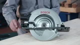 Демонстрация на ръчен циркуляр Bosch GKS 235 TURBO