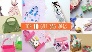Top 10 Gift Bag Ideas | Gift Wrapping Ideas