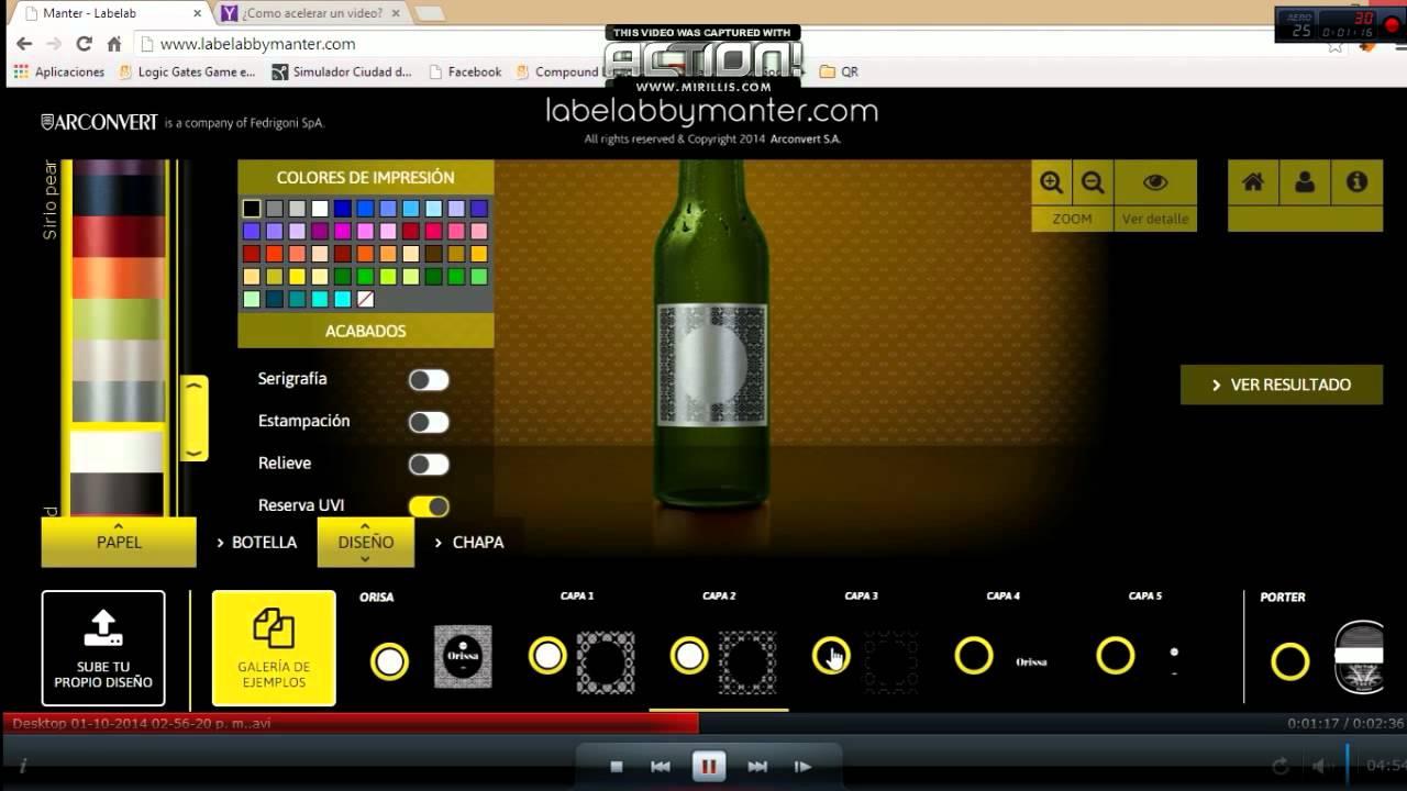 Procedimiento de elección de etiqueta para cerveza - YouTube