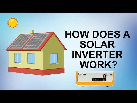 How does a Solar Off Grid Hybrid Inverter/Home UPS work?