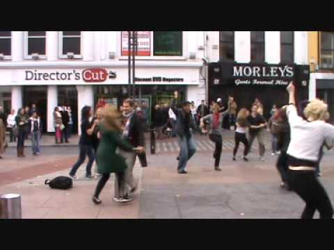 Shim Sham Swing Dance Flashmob in Cork, Ireland (Oct. 25, 2010)