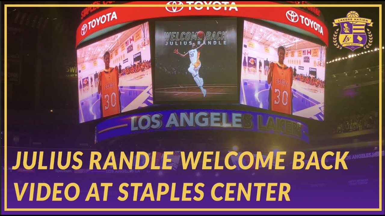 8ed367825d21 Lakers Nation  Welcome Back Tribute Video for Julius Randle at ...