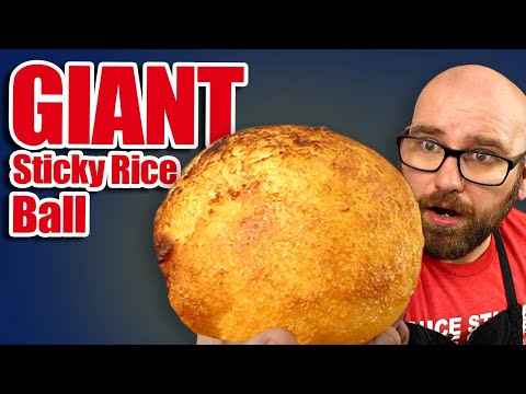 I Tried To Make The Giant Sticky Rice Ball From Vietnam!