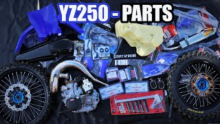 YZ250 dirt bike build: Final preparation - we are ready!!