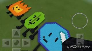 BFDI Minecraft all contestants!