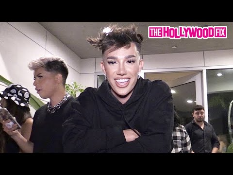 James Charles Is Asked About His Hot New Crush Before Turning The Tables On Paparazzi At Hype House