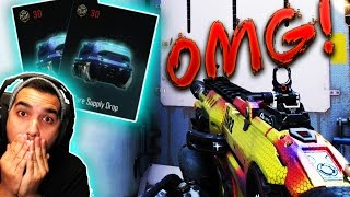 OMG I GOT A RARE WEAPON CAMO! - BLACK OPS 3 SUPPLY DROPS RARE ITEMS/CAMOS (BO3 SUPPLY DROP)