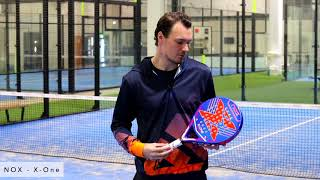 PadelGeek review of the NOX X-One