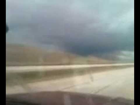 Freak Wyoming Storm Part 1