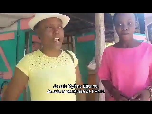 Soutenir les femmes victimes du séisme en Haïti