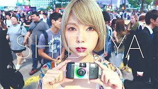 インスタントカメラ「写ルンです」が人気 / 夜の渋谷で撮ってみた