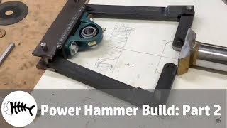 Blacksmith : building a small power hammer. Part 2